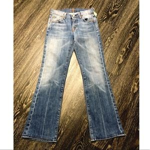 [7FAM] 7 for all mankind Boot Cut Jeans sz 24
